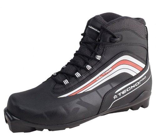 Langlaufschuh / Langlaufschuhe Ultra Herren SNS-Norm (Langlaufschuh Größe: 903 schwarz/weiss/rot - UK 8,5 (42 2/3))