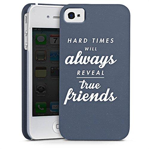 Apple iPhone X Silikon Hülle Case Schutzhülle Freunde Wahre Freunde Sprüche Premium Case glänzend