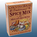 Home Brew & Wine Making - Traditional Mulled Wine Spice Mix - Box Of 10 Sachets
