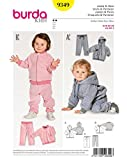 Burda Schnittmuster Kids 9349Jacke und Hose, Papier, weiß, 19x 14x 0,5cm