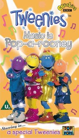 tweenies-music-is-pop-a-rooney-vhs-1999