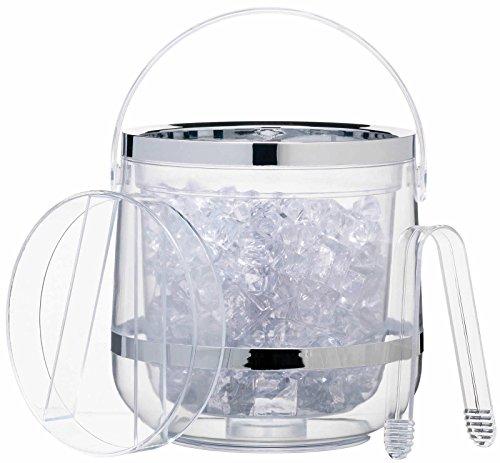 Bar Craft Acrylic - Cubitera de doble aislamiento, transparente