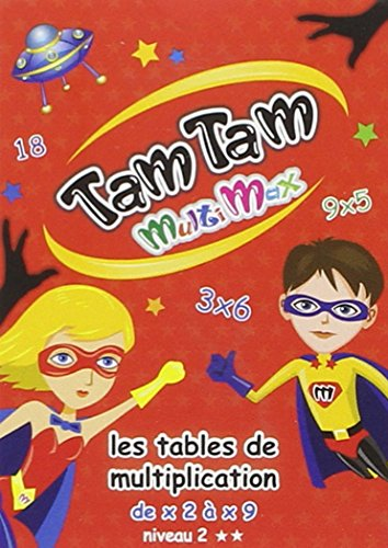 Tam Tam - Les tables de multiplication - Niveau 2