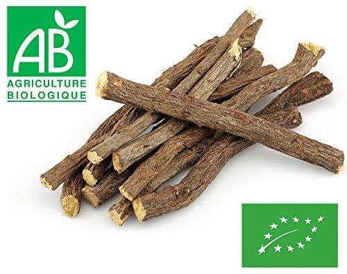 Bâtons de racine de Réglisse Bio 1 kg (environ 80 bâtons)