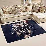 JSTEL ingbags Super Weich Moderner Dreamcatcher Boho, ein Wohnzimmer Teppiche Teppich Schlafzimmer Teppich für Kinder Play massiv Home Decorator Boden Teppich und Teppiche 78,7x 50,8cm