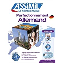 Superpack Perfectionnement Allemand (livre+4CD audio+1CD mp3)