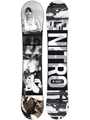 Nitro Snowboards Freestyle Board schwarz 158