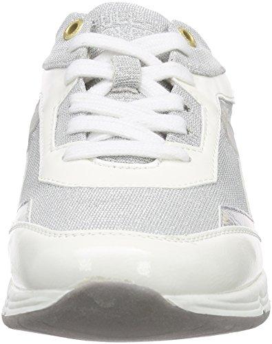 Bullboxer 159009f5s, Baskets Basses femme Blanc - Weiß (WHSL)