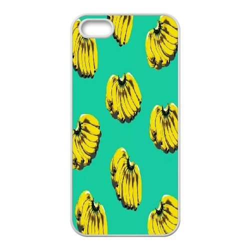 Custom Power bananas Cell Phone Case, DIY Power bananas Cover for iPhone 5,5S