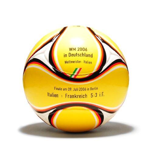 WM Fußball 2006 mit Aufdruck (Deutschland 2006 Fussball Ball)