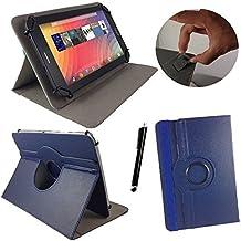 Onda V9193G Air Z3735–Teclado alemán Tablet Funda con función atril–9.7pulgadas teclado azul azul