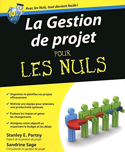 En ligne téléchargement gratuit La Gestion de projet Pour les Nuls pdf epub