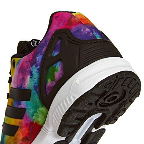 adidas Zx Flux K, Mocassins Garçon Multicolore