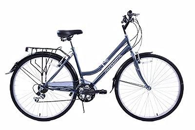 "Professional Regent Upright Position Ladies 18 Speed Hybrid City Bike 19"" Frame"