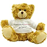 Time spent with - Sigmund Freud - Plush Teddy Bear