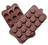 Outtybrave DIY Flower Silicone Fondant Mould Cake Decor Muffa del Cioccolato Strumento di Cottura della Cucina Accessori