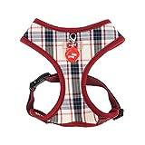 Puppia PAQA-AC1426 Hunde Geschirr, Vogue Harness A, medium, beige