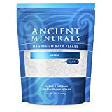 Professional Strength Ancient Minerals Magnesium Bath Flakes Ultra - Single Use - 1.65 lbs