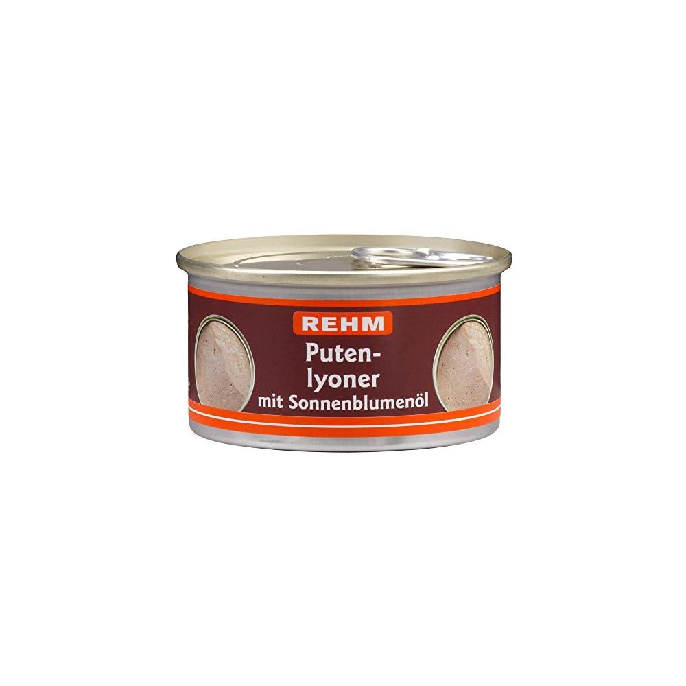 Rehm Putenlyoner Mit Sonnenblumenl 12er Pack 12 X 125 G