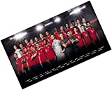 FC Bayern München Team Plakat / Poster / Mannschaftsposter 61 x 91 cm FCB plus gratis Aufkleber forever München