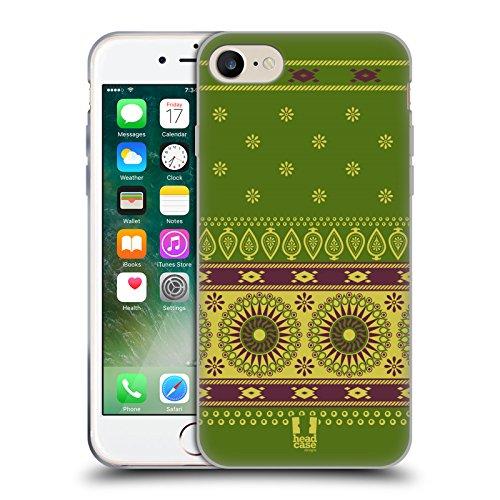 Head Case Designs Daisy Fiori Romantici Cover Morbida In Gel Per Apple iPhone 7 Plus / 8 Plus Oasi