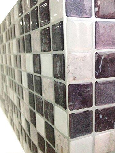 Tile & Adhesivo 3d gel efecto mosaico autoadhesivo Mosaico ...
