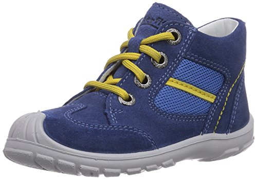Superfit  SOFTTIPPO, {Chaussures premiers pas pour bébé (garçon) Bleu - Blau (WATER KOMBI 88)