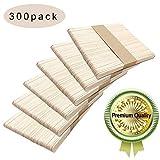 Palitos de madera,Popsicle,Palitos De Madera Manualidades,Palitos De Madera Helado,palos de helados de madera (300PCS) (Color primario)
