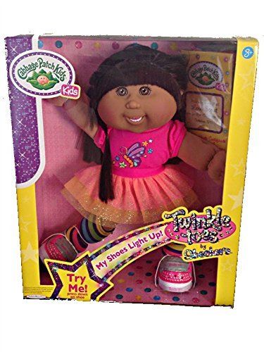 cabbage-patch-kids-twinkle-toes-hispanic-brown-hair-brown-eyes-with-dental-braces-by-jakks-pacific