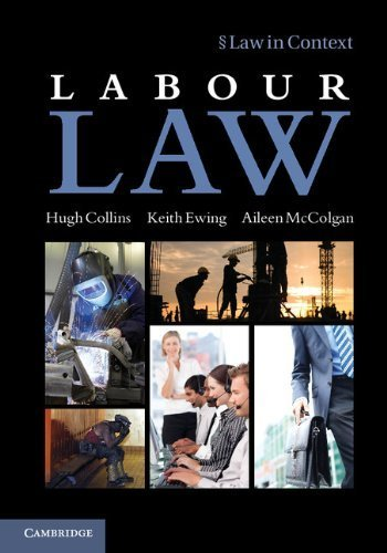 Labour Law (Law in Context) by Professor Hugh Collins (2012-11-19)