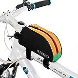 Tofern Radfahren Fahrrad Fahrrad Rahmentasche Oberrohrrahmentasche Vorderrohr Pannier - 8 Farben - Mehrere Farb