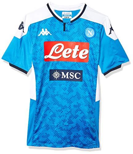 SSC Napoli Maglia Gara Home 2019/2020 Uomo, Blu, L