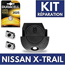 Jongo caja llave Auto – Carcasa para mando a distancia Nissan XTrial ✚ Switch ✚ pila