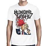 Municipal Waste - Männer Trump Wände des Todes T-Shirt, XX-Large, White