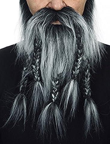 Viking salt and pepper beard