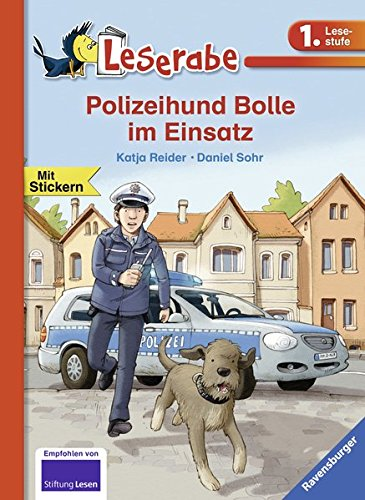 Leserabe - Polizeihund Bolle im Einsatz