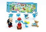 Kinder Überraschung DIE SCHLÜMPFE 2011, acht deutsche Figuren mit BPZ (Komplettsatz)