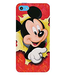 Vizagbeats micky mouse paper Back Case Cover for Apple iPhone 6 Plus