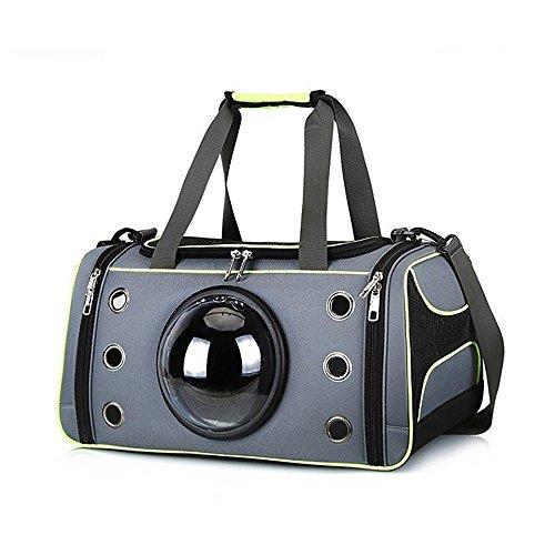 GKPLY Haustier Reise Carrier, Deluxe Soft Sided Tragbare Belüftung Pet Carrier, Komfortables Design mit Sicherheitsfunktionen Für Mittelgroße Katzen, Hunde und Haustiere (Deluxe Carrier Pet)