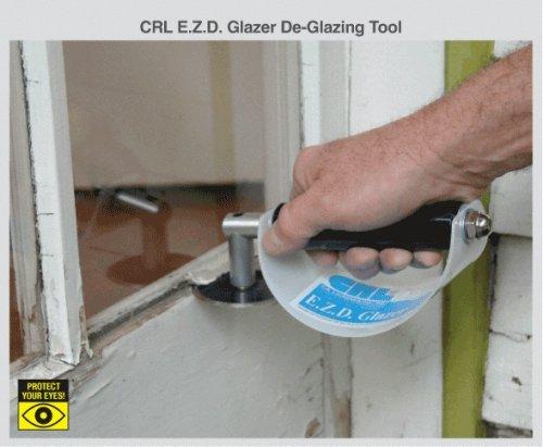 E.Z.D. Glaser, Silikonfugenschneider (Ausglasungswerkzeug) mit Griff und Abrutschschutz