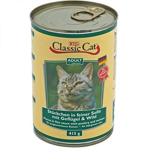 Classic Classic Cat Dose Soße mit Geflügel & Wild 415g