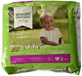 Seventh Generation Baby Diapers Stage 3, 31 ct (7 - 13 Kgs)