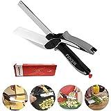 Clever alimentaire Chopper Cutter 2 en 1 - Couteaux de cuisine