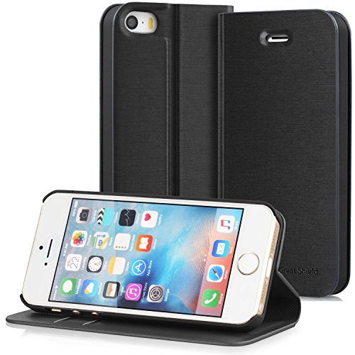 iphone-se-case-greatshield-shift-lx-leather-wallet-case-with-card-slots-for-apple-iphone-se-black