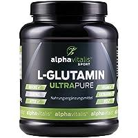 L-Glutamin Pulver ULTRAPURE - 99,95% rein - 1000g - vegan - glutenfrei - laktosefrei - feinstes L-Glutamin Pulver... preisvergleich bei fajdalomcsillapitas.eu