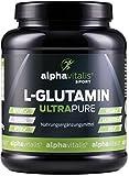 L-Glutamin Pulver ULTRAPURE - 99,95% rein - 1000g - vegan - glutenfrei - laktosefrei - feinstes L-Glutamin Pulver aus Deutscher Herstellung EINWEG