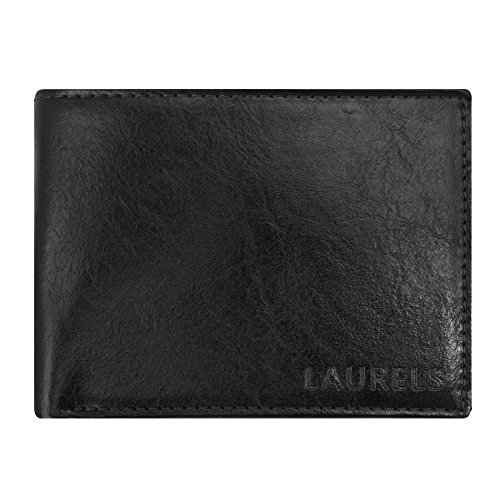 Laurels Aspire Black Men's Wallet