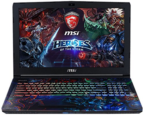 MSI GE62 6QD-452FR Heroes of the Storm Edition Ordinateur portable Non tactile 15″(38,10 cm) Noir (Intel Core_i7, 8 Go de RAM, 1 To, Nvidia GeForce GTX 960M, Windows 10)