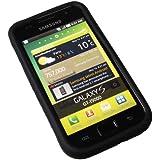 Black Silicon Case Handy Schutz Hülle Tasche für Samsung i9000 Galaxy S i9001 Galaxy S Plus