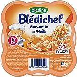 Blédina bledichef assiette blanquette à l'ancienne avec morceaux 260g dès 18 - ( Prix Unitaire ) - Envoi Rapide...